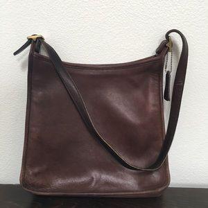 Vintage Coach Brown leather sac soho city handbag